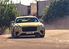 Bentley rozdriftovalo Continental GT Speed, chce zvýraznit jeho sportovnost