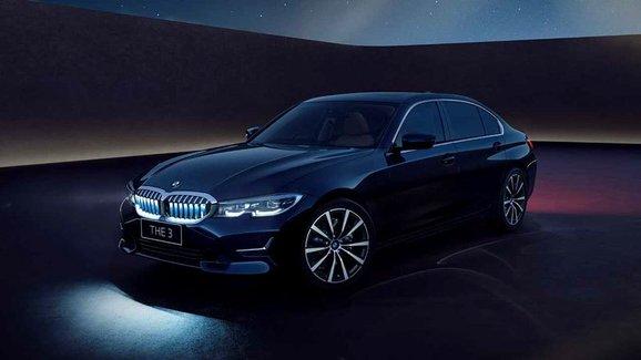 BMW představilo prodloužený sedan řady 3 Iconic Edition, dostal i svítící masku