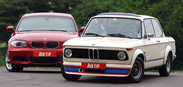 BMW 2002 Turbo (1973) vs. BMW 135i (2009): Netypické srovnání