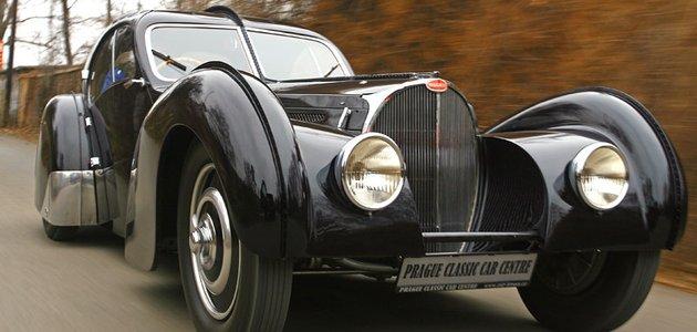 Bugatti 57 SC Atlantic: Bájná Atlantida