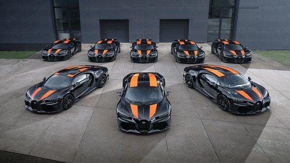 Bugatti vystavilo první Chirony Super Sport 300+, jejich ladění trvalo 2 roky