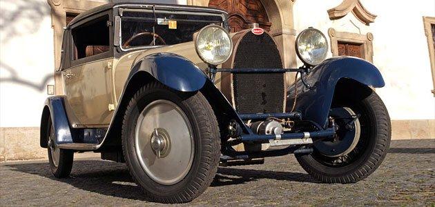 Bugatti 44 Faux kabriolet (1928) - Vůně patiny