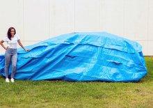 ClimaGuard je obří pytel na auto, které uchrání i před povodněmi