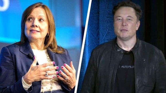Nový seznam 100 nejvlivnějších lidí zahrnuje i dva šéfy amerických automobilek