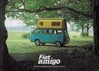 Obytná dodávka Fiat Amigo měla podvozek a motor sportovního zaměření. Znáte ji?