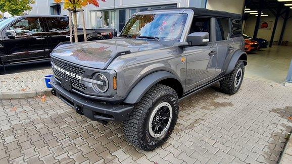 Ford Bronco už si můžete koupit i v Česku. Kde a za kolik?