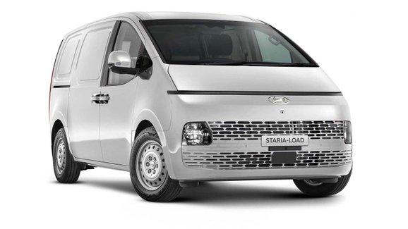 Futuristické MPV Hyundai Staria se představuje v užitkové verzi