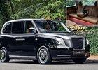 Možná nejluxusnější taxík na světě má materiály z Bentley