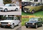 Žigulík nebyl jediný. Připomeňte si i další bratry Fiatu 124. Znáte indickou nebo tureckou verzi?