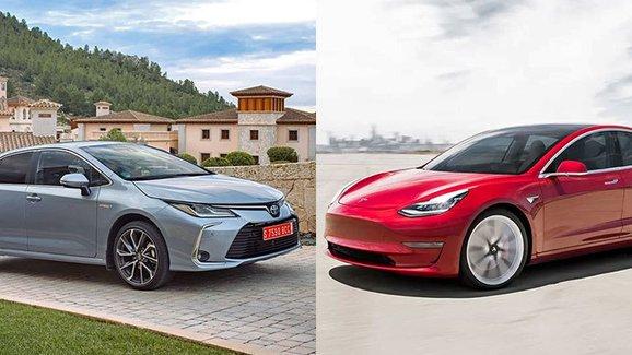 Nejhodnotnější automobilovou značkou je Toyota, Tesla roste