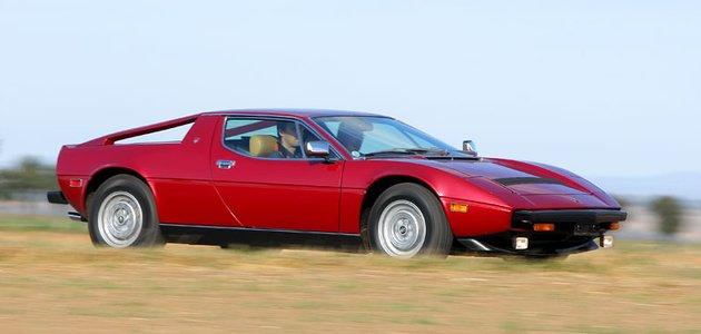 Maserati Merak SS (1979): Medvědice s trojzubcem