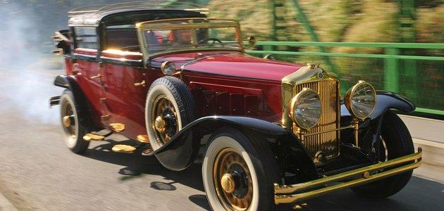 Minerva AL (1931): Luxus s šoupátkovým osmiválcem