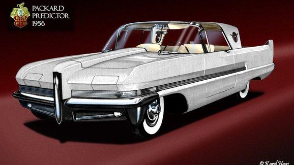Packard Predictor (1956): Vůz snů od automobilky bez budoucnosti