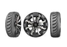 Futuristické pneumatiky Goodyearu se dofukují avyrábějí elektřinu