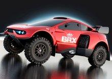 BRX představuje upravený závodní offroad Prodrive Hunter T1+ pro Rallye Dakar