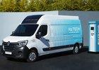 Další vodíková dodávka je tu. Renault Master H2 Tech ujede až 500 km na natankování