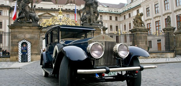 Test Rolls-Royce Phantom I (1927)