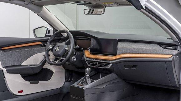Škoda si patentovala nový materiál pro interiéry, sází na přírodní suroviny