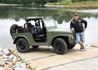 Pořídil si armádní Suzuki LJ 80: Originál z Rakouska sloužil 40 let!