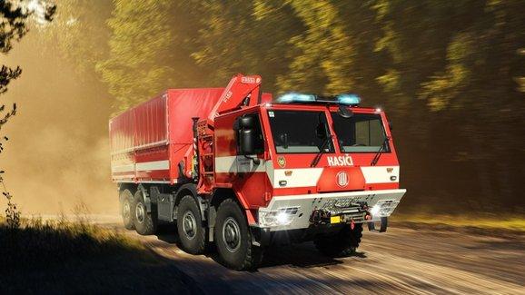 Tatra získala pilotní kontrakt na dodávku 77 hasičských vozidel pro bundeswehr