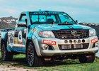 Nadšenci postavili Toyotu Hilux V12 twin-turbo a vyrazili s ní závodit