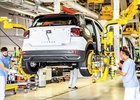 Nedostatek čipů snížil výrobu VW na úroveň roku 1958