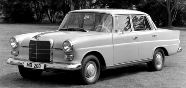 Mercedes-Benz W110 (1961–1968): Velké auto za méně peněz