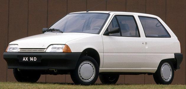 Citroën AX (1986–1998): Rekordman ve spotřebě