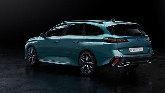 Nový Peugeot 308 SW oficiálně: Narostl a vypadá fenomenálně