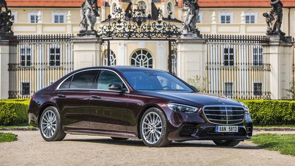 Mercedes-Benz S 400 d (243 kW) 4MATIC L – Jako chytré hodinky, ale luxusní. Naštěstí